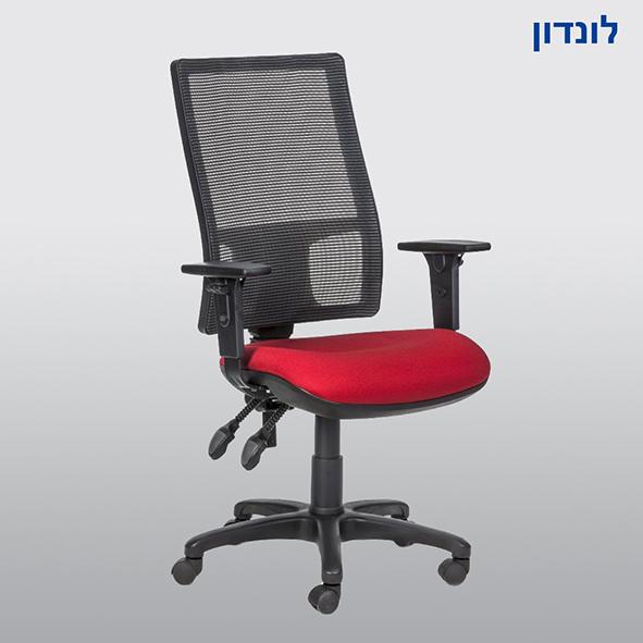 כיסא מזכירה בעיות גב